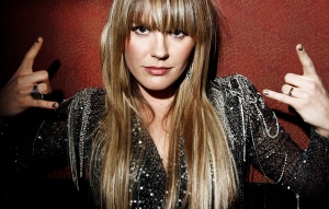 In this Feb. 4, 2011 photo, musician Grace Potter, from the band Grace Potter and the Nocturnals, poses for a portrait in Los Angeles. (AP Photo/Matt Sayles)