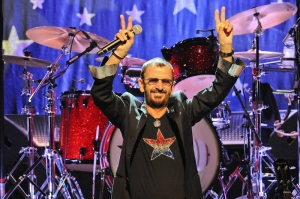 Ringo Starr performs in concert at ACL Live at Moody Theater on October 8, 2014 in Austin, Texas.
